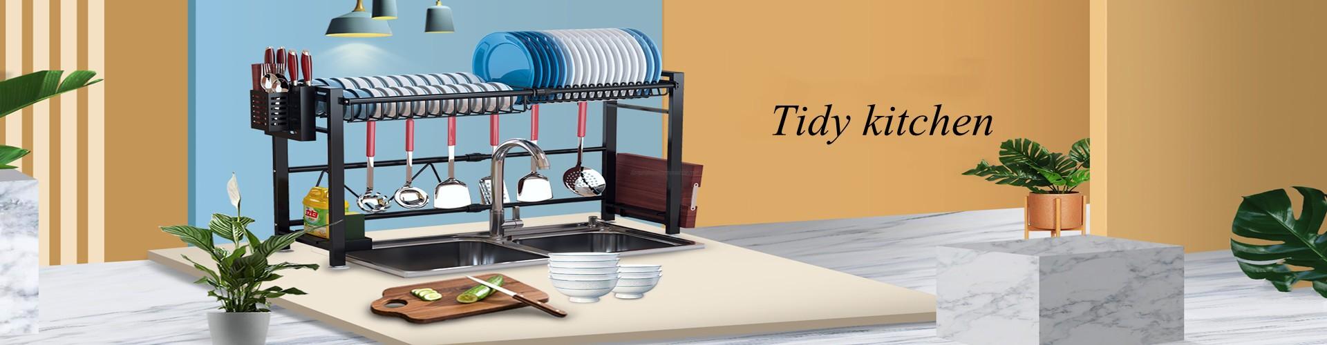 Magnetic Fridge Organizer Paper Towel Holder