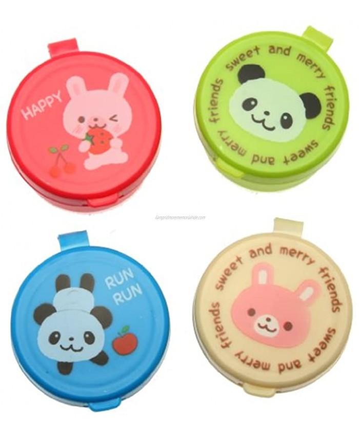 Kotobuki Condiment Containers for Bento Box Mini Animal Friends