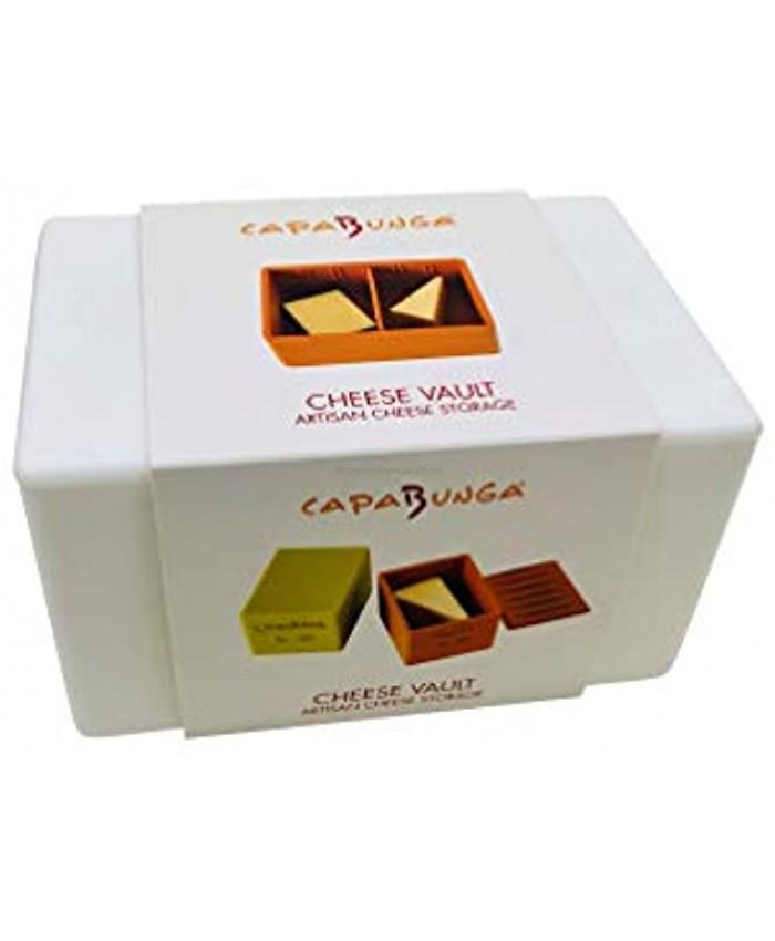 Capabunga Cheese Vault Food Storage Box One Size White