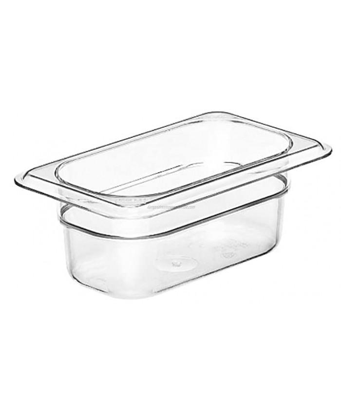 Cambro Camwear 92CW135 Food Pan 1 9 by 2-Inch Clear