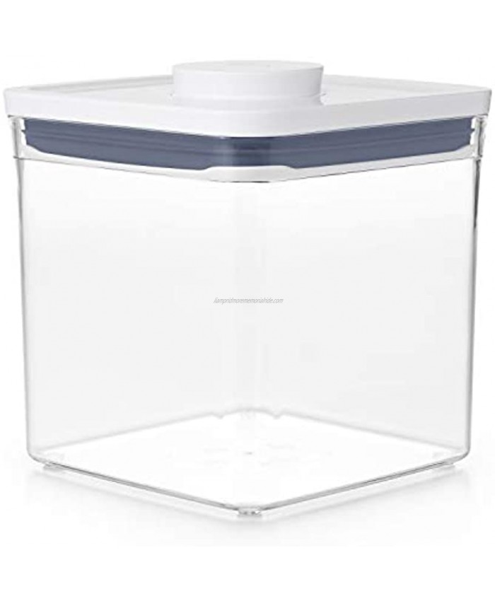 OXO Good Grips POP Container Airtight Food Storage 2.8 Qt for Sugar and More Transparent