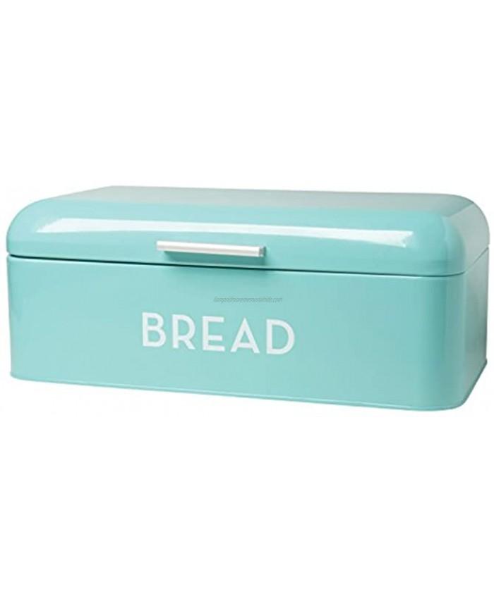 Now Designs 5003496aa Large Bread Bin Turquoise Blue