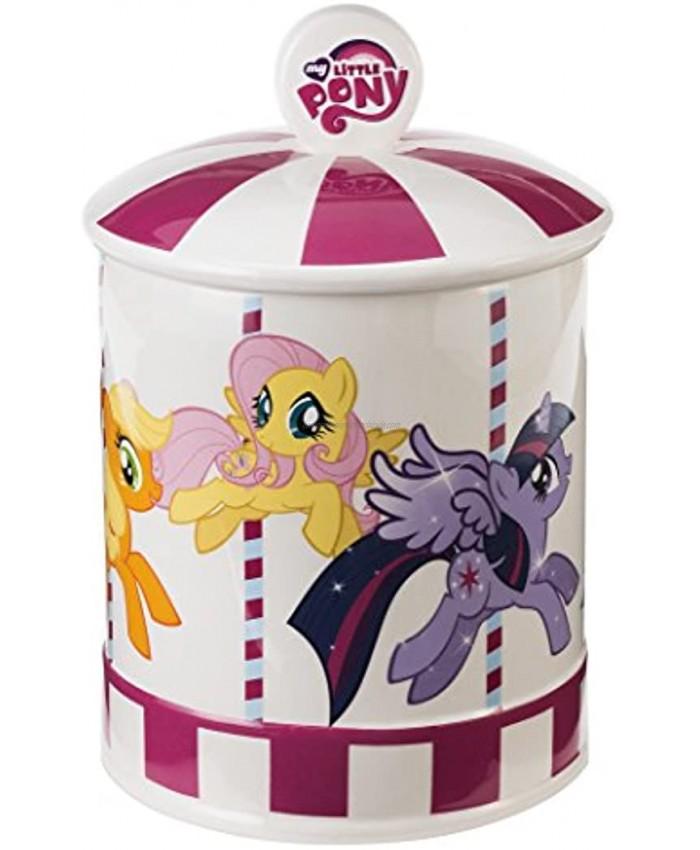 Vandor My Little Pony Ceramic Cookie Jar Multicolored