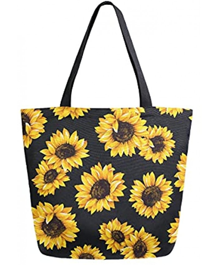 Lianmei Canvas Tote Bags,canvas tote bag for women  Reusable Shopping Grocery Bag