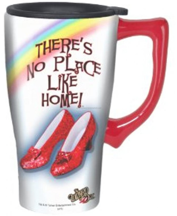 Spoontiques Ruby Slippers Travel Mug 1 Count Pack of 1 Multi Colored