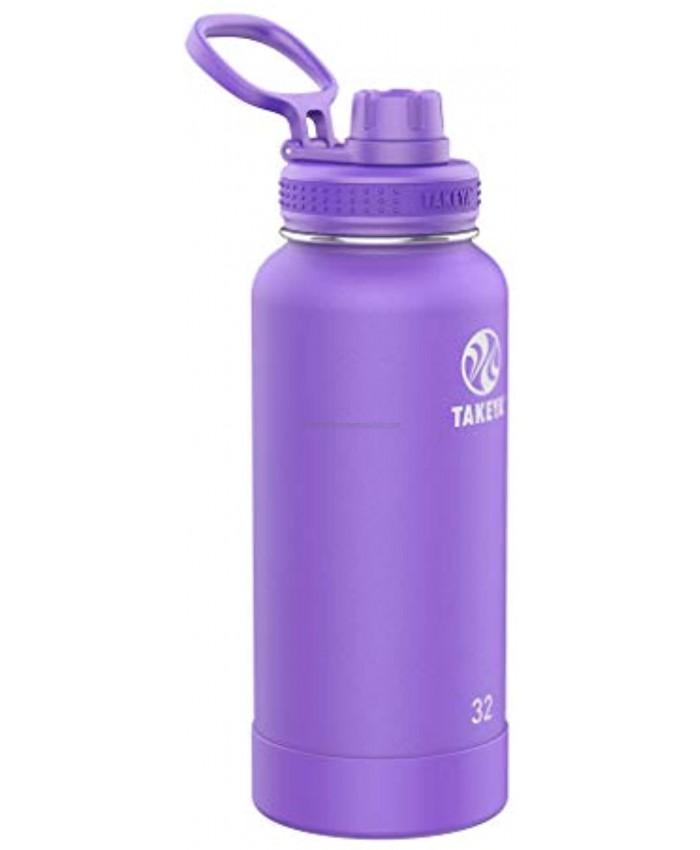 Takeya Actives 32oz Spout Bottle Nitro Purple