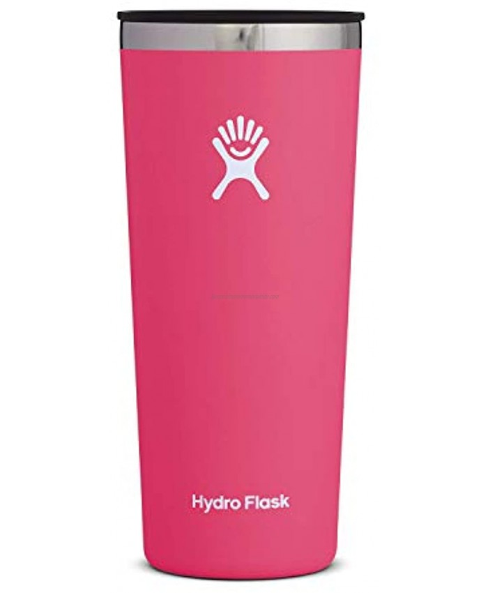 Hydro Flask Tumbler Cup Stainless Steel & Vacuum Insulated Press-In Lid 22 oz Watermelon