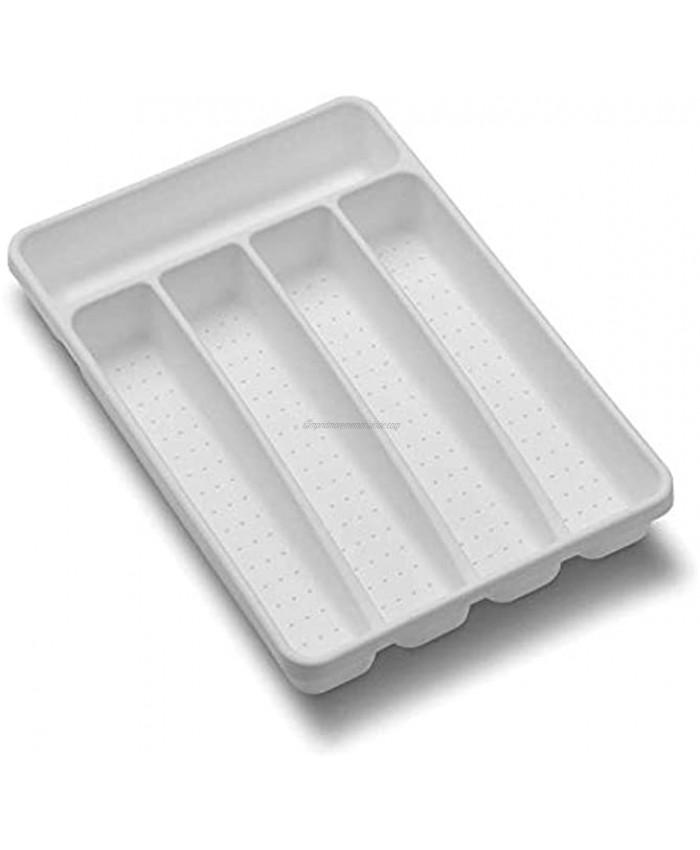 madesmart Value Mini Silverware Tray White